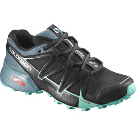 Salomon Speedcross Vario 2 Shoes Women Black/North Atlantic/Biscay Green